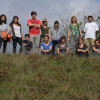 Students from an international school have helped to prepare pastures for wild horses