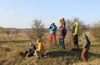 A large herbivore reserve was visited by experts from the Austrian branch of the worldwide preservation organisation WWF today