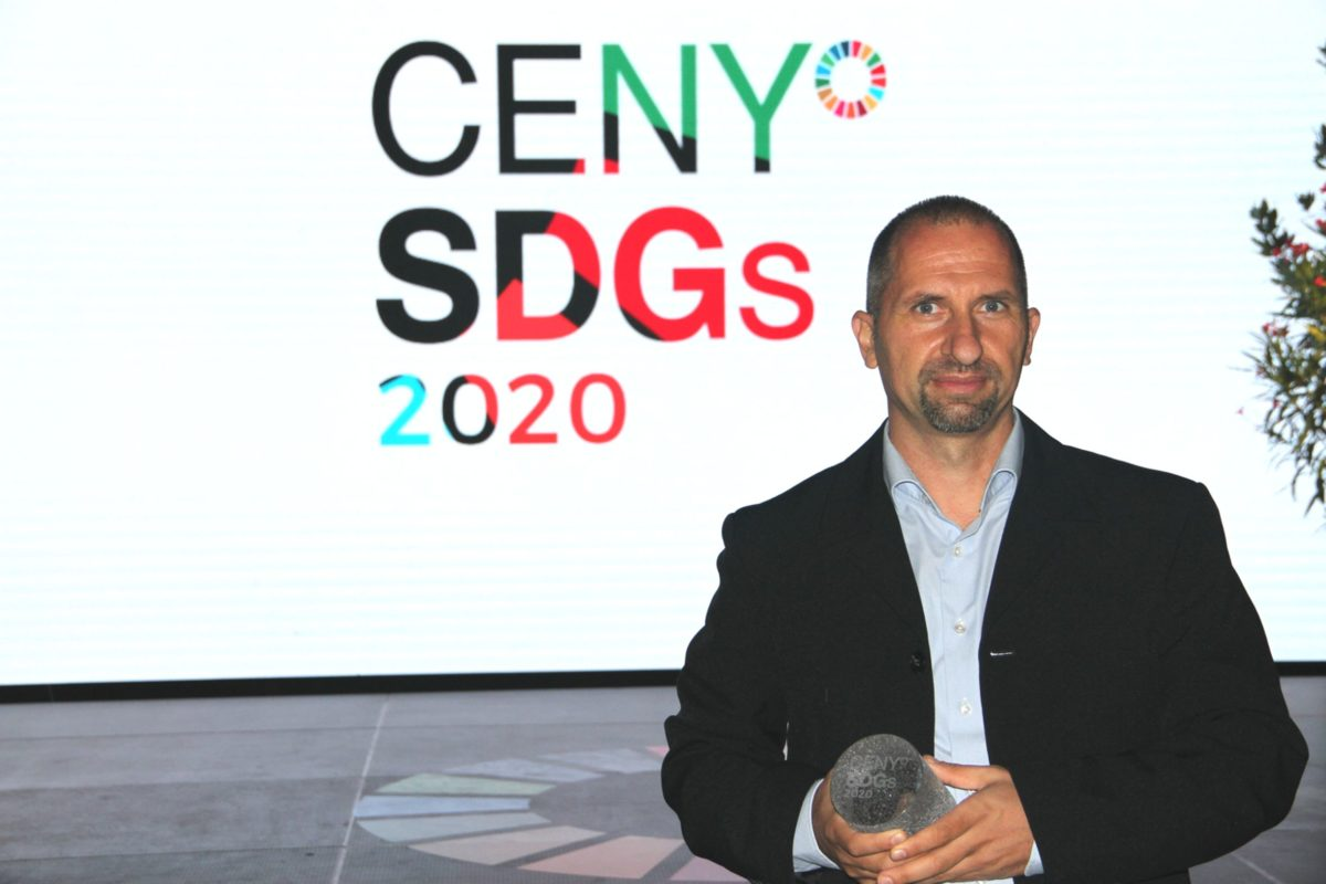 """The """"European Serengeti"""" reserve of large herbivores was awarded today the prestigious SDGs Award for sustainability in the area of climate protection"""